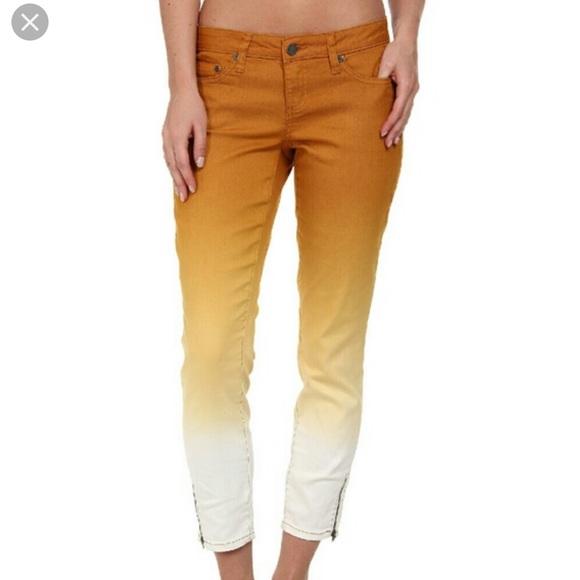 Prana Denim - prAna Jett Capri Crop Jeans 8/29 Dip Dye Ombre